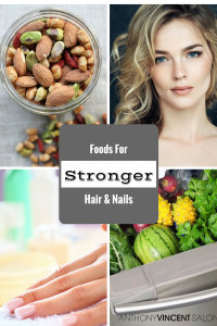 Foods For Stronger Hair and Nails